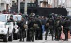 Policía de Colombia descubre túnel cerca a palacio presidencial