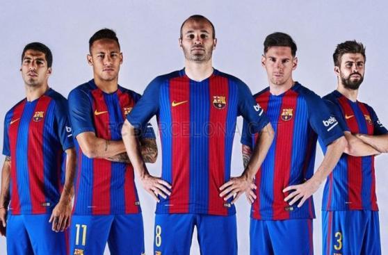 Barcelona presentó de forma oficial su nueva camiseta [GALERÍA]
