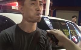 Chofer ebrio intentó engañar al alcoholímetro en China [VIDEO]