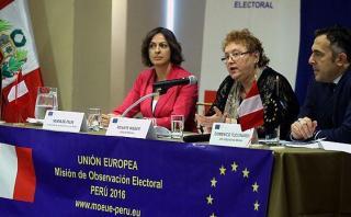 Misión UE emitirá en julio su informe sobre las elecciones 2016