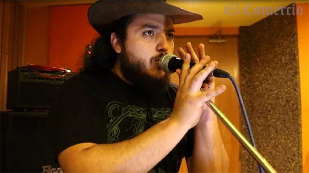 The Dead-End Alley Band en una sesión en vivo