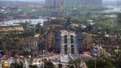 Este parque de atracciones chino le declara la guerra a Disney