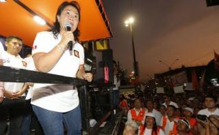 Keiko Fujimori recordó el 'baguazo' en mitin en Chachapoyas