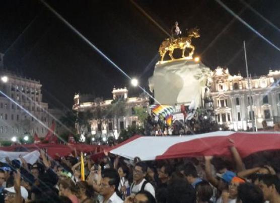 Este es el recorrido de la próxima marcha contra Keiko Fujimori