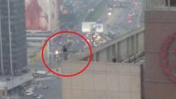 Hotel Sheraton: mujer se suicidó lanzándose del último piso