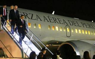 Humala viajó a Francia para participar en reunión de la OCDE