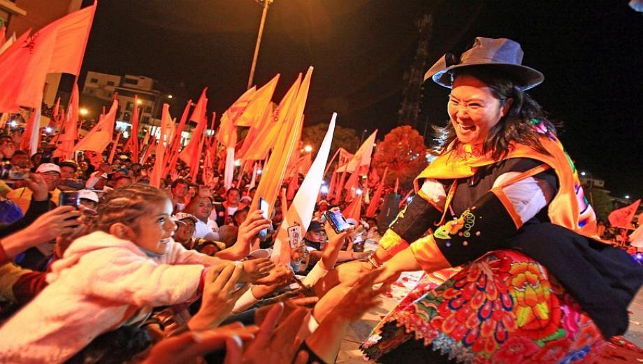 Recta final: Keiko y PPK en campaña a poco de comicios [FOTOS]