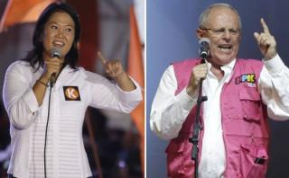 Keiko cerrará su campaña en Lima y PPK lo hará en Arequipa