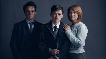 """""""Harry Potter"""": primeras imágenes del mago adulto y su familia"""