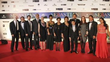 """""""Sebastián"""": el look de los famosos en avant premiere [FOTOS]"""