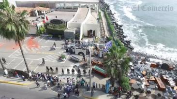 Costa Verde: Barranco recuperó posesión de terreno desalojado