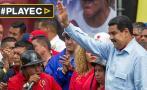 Venezuela: transportistas marcharon para respaldar a Maduro
