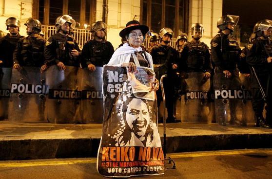 Marcha contra Keiko Fujimori: Postales de la movilización