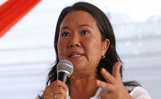Keiko Fujimori por marcha: Tenemos que seguir hacia adelante