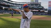 Neymar practicó béisbol en Nueva York y este fue el resultado