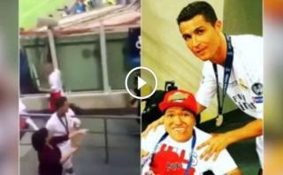 Cristiano Ronaldo y el noble gesto en San Siro que no se vio