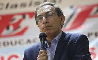 Martín Vizcarra dice que Keiko Fujimori lo quiso en su equipo