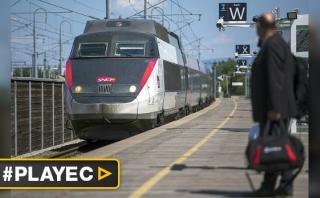 Huelga de trenes aumenta tensión en Francia [VIDEO]