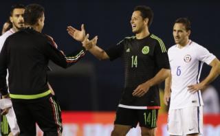 México venció 1-0 a Chile en California previo a Copa América