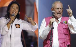 PPK y Keiko cierran sus campañas hoy con festivos mítines