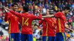 España goleó 6-1 a Corea del Sur en amistoso FIFA - Noticias de jung sung ryong
