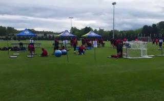 Selección peruana trabaja así la parte física para Copa América