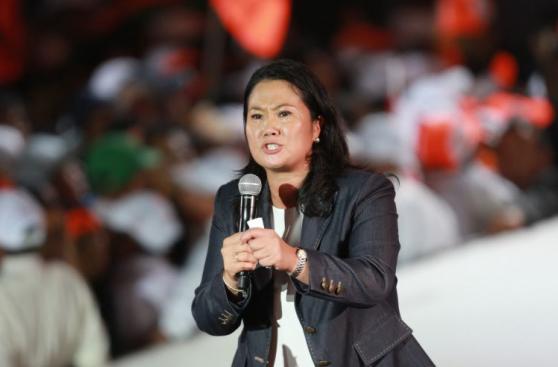 Keiko Fujimori cerró campaña presidencial en Villa El Salvador