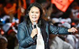 """Keiko Fujimori en cierre de campaña: """"Representamos el cambio"""""""