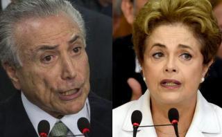 Temer dice que no intenta acelerar la destitución de Dilma