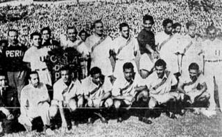 Perú campeón del Sudamericano de 1939