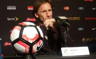 Ricardo Gareca: lo que dijo el técnico de Perú antes del debut