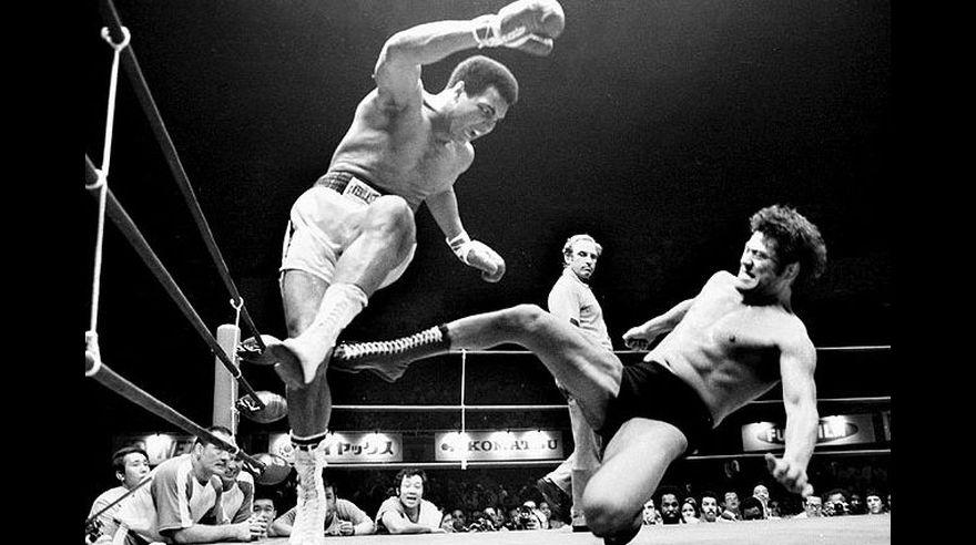 Muhammad Ali y sus fotos con grandes famosos de la historia
