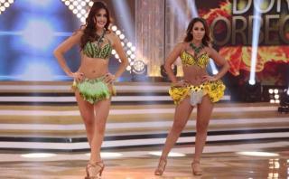 """El gran show"": Dorita Orbegoso superó baile de Milett Figueroa"