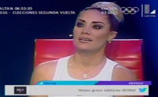 """""""El valor de la verdad"""": Grasse Becerra se burló de Melissa"""