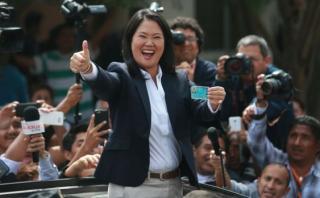 "Keiko Fujimori: ""Voten sin miedo y pensando en el país"""
