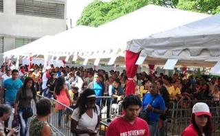 Venezuela: Peruanos tardaron más en comprar chicha que en votar