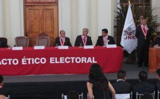 Pacto Ético pide a partidos tranquilidad tras primeros sondeos