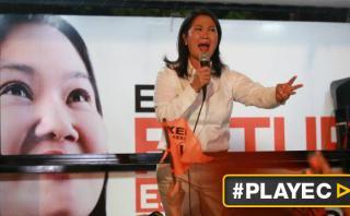 "Keiko Fujimori: ""Cifras muestran un empate técnico con PPK"""
