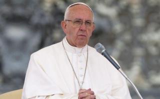 """El papa: """"Los santos no son superhombres ni nacieron perfectos"""""""