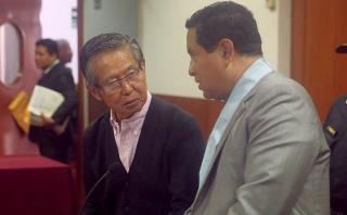Alberto Fujimori recibió flash electoral con su abogado