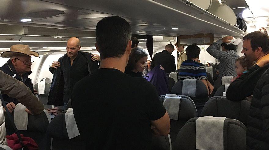 Cuatro pasajeros y ocho tripulantes de cabina sufrieron heridas en vuelo Avianca Lima-Buenos Aires (@gciappesoni).