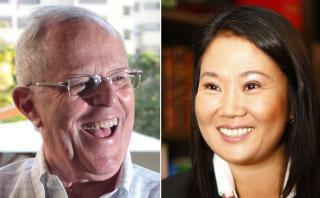 PPK y Keiko protagonizan la elección más ajustada en 25 años