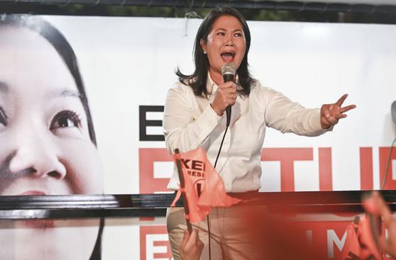Keiko Fujimori: la jornada electoral de la candidata [FOTOS]