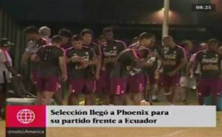 Selección peruana entrenó en Phoenix bajo 40 grados [VIDEO]