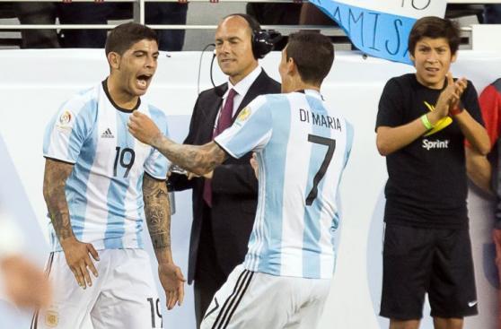 Argentina-Chile: el importante triunfo albiceleste en imágenes