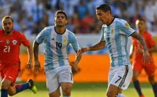Argentina ganó 2-1 a Chile por el Grupo D de la Copa América