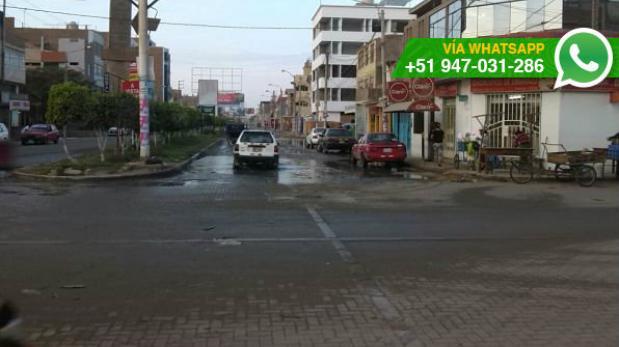 Chiclayo: agua sigue empozada tras colapso de redes de desagüe