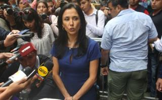 Nadine Heredia: fiscal pide su impedimento de salida del Perú