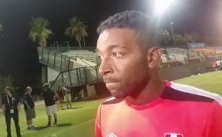 """Jair Céspedes: """"Ecuador es un equipo muy veloz"""""""