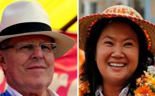 Las cifras de PPK y Keiko Fujimori en el último mes